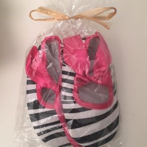 0-12 Mos Zebra Baby Shoes